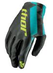 THOR MX Motocross Women's 2017 VOID Gloves (Black/Teal)