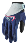 Thor MX Motocross Women's Spectrum Gloves (Ocean/Pink)