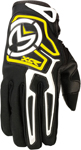 MOOSE Racing MX Motocross Offroad Kids 2016 XCR Gloves (Black/Yellow)