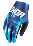 THOR MX Motocross Kids 2017 VOID Gloves (TYDY Blue)