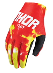 THOR MX Motocross Kids 2017 VOID Gloves (TYDY Fire)