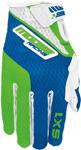 MOOSE Racing MX Motocross Boys 2017 SX1 Gloves (Green/Blue)