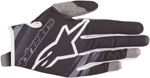 Alpinestars MX Motocross Youth Radar Gloves (Black/Mid Gray)