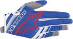 Alpinestars MX Motocross Youth Radar Gloves (Blue/White/Red)
