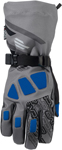 ARCTIVA Snow Snowmobile Men's 2017 QUEST Gloves (Gray/Blue)
