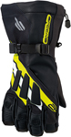 ARCTIVA Snow Snowmobile Men's 2017 MERIDIAN Gloves (Black/Yellow)