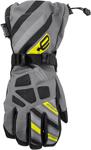 ARCTIVA Snow Snowmobile Men's 2017 RAVINE Gloves (Gray/Hi-Viz)