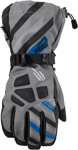 ARCTIVA Snow Snowmobile Men's 2017 RAVINE Gloves (Gray/Blue)