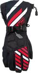 ARCTIVA Snow Snowmobile Men's 2017 RAVINE Gloves (Black/Red)