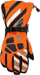 ARCTIVA Snow Snowmobile Men's 2017 RAVINE Gloves (Orange)