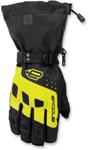 Arctiva Snow Snowmobile Men's 2018 QUEST Lightly Insulated Gloves (Black/Hi-Viz)