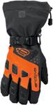 Arctiva Snow Snowmobile Men's 2018 QUEST Lightly Insulated Gloves (Black/Orange)