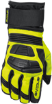 Arctiva Snow Snowmobile ROVE Lightly Insulated Gloves (Black/Hi-Viz)