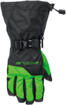 Arctiva Snow Snowmobile Men's 2018 PIVOT Insulated Gloves (Black/Green)