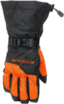 Arctiva Snow Snowmobile Men's 2018 PIVOT Insulated Gloves (Black/Orange)