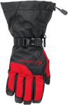 Arctiva Snow Snowmobile Men's 2018 PIVOT Insulated Gloves (Black/Red)