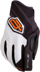 Arctiva Snow Snowmobile Men's SC1 Race-Inspired MX-Style Water-Resistant Shell Gloves (Black/Orange/White)