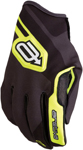 Arctiva Snow Snowmobile Men's SC1 Race-Inspired MX-Style Water-Resistant Shell Gloves (Black/Hi-Viz/White)