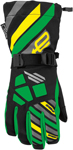 ARCTIVA Snow Snowmobile Kids 2017 RAVINE Gloves (Black/Green)