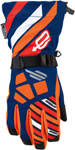 ARCTIVA Snow Snowmobile Kids 2017 RAVINE Gloves (Blue/Orange)