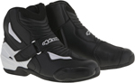 Alpinestars 2016 SMX-1 R Low-Cut Motorcycle Riding Boots (Black/White)
