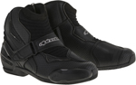 Alpinestars 2016 SMX-1 R Vented Low-Cut Motorcycle Riding Boots (Black)