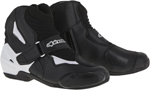 Alpinestars 2016 SMX-1 R Vented Low-Cut Motorcycle Riding Boots (Black/White)