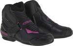 Alpinestars 2016 Stella SMX-1 R Low-Cut Motorcycle Riding Boots (Black/Pink)