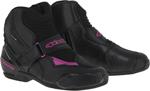 Alpinestars Stella SMX-1 R Vented Low-Cut Boots (Black/Pink)