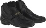 Alpinestars Stella SMX-1 R Vented Low-Cut Boots (Black/Gold)