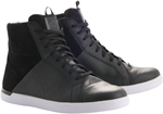 Alpinestars JAM Drystar Suede/Leather Shoes (Black Suede/Leather)
