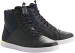 Alpinestars JAM Drystar Denim/Leather Shoes (Denim/Black/Flo Yellow)