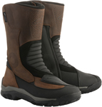 Alpinestars CAMPECHE Drystar Oiled Leather Boots (Brown/Black)