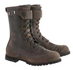 Alpinestars OSCAR Firm DRYSTAR Vintage-Military Style Riding Boots (Oiled Brown)