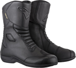 Alpinestars WEB Gore-Tex Leather Touring Motorcycle Boots (Black)