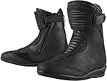 ICON 1000 Ladies EASTSIDE Waterproof Leather Motorcycle Boots (Black)