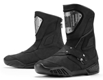 ICON 1000 RETROGRADE CE Certified Leather Motorcycle Boots (Black)