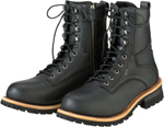 Z1R Men's M4 Waterproof Leather Motorcycle Riding Boots