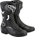 Alpinestars Women's Stella SMX-6 V2 Vented Road/Track Motorcycle Boots (Black/White)
