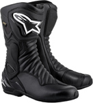 Alpinestars SMX-6 v2 Gore-Tex Leather Motorcycle Riding Boots (Black)