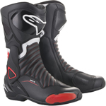 Alpinestars SMX-6 V2 Riding Boots (Black/Red)