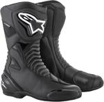 Alpinestars SMX-S Waterproof Riding Boots (Black/Black)