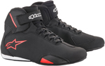 Alpinestars SEKTOR Street Riding Shoes (Black/Red)