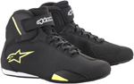 Alpinestars SEKTOR Street Riding Shoes (Black/Fluo Yellow)