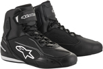 Alpinestars FASTER-3 Street Riding Shoes (Black/White)