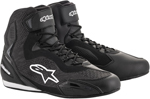 Alpinestars FASTER-3 Rideknit Street Riding Shoes (Black)