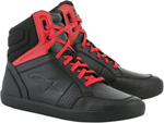 Alpinestars Men's J-8 Motorcycle Street Riding Shoes (Black/Red)