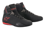 Alpinestars SEKTOR CE Certified Street Riding Shoes (Black/Grey/Red)