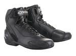 Alpinestars SP-1 V2 CE Certified Street Riding Boots/Shoes (Black/Black)