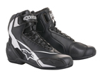 Alpinestars SP-1 V2 CE Certified Street Riding Boots/Shoes (Black/White)